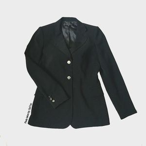 Anne Klein Black Blazer in Excellent Condition